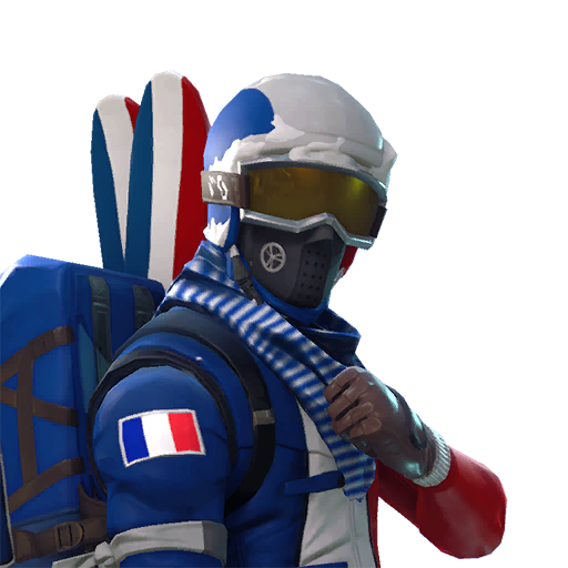 Fortnite Alpine Ace (FRA) outfit