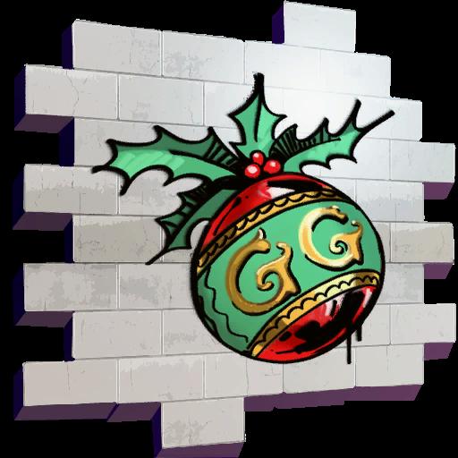 Fortnite GG Ornament spray