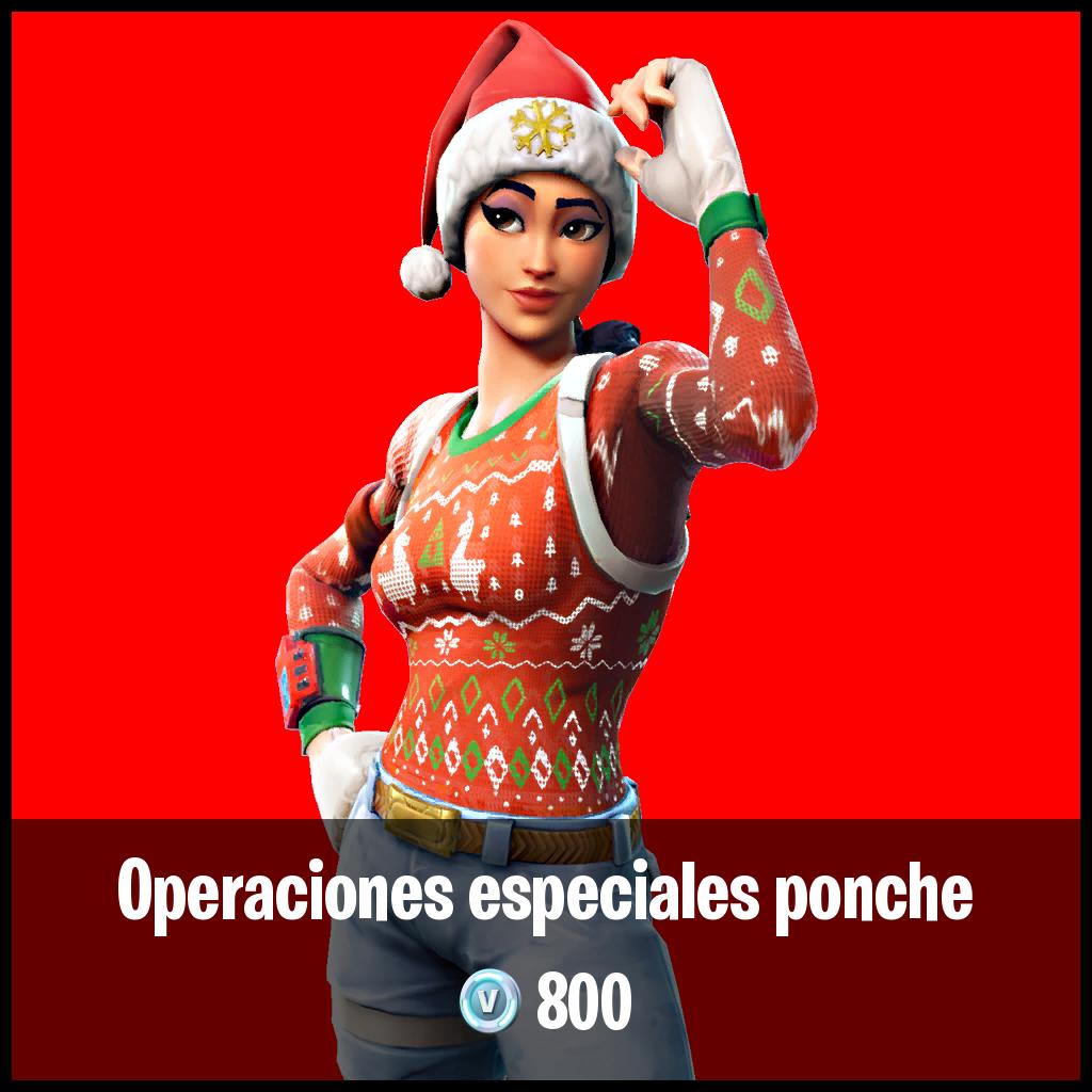 Operaciones especiales ponche