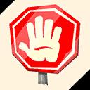 Fortnite Stop emoji