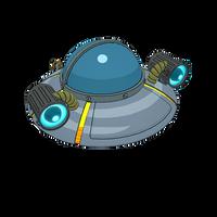 Rick's UFO Cruiser
