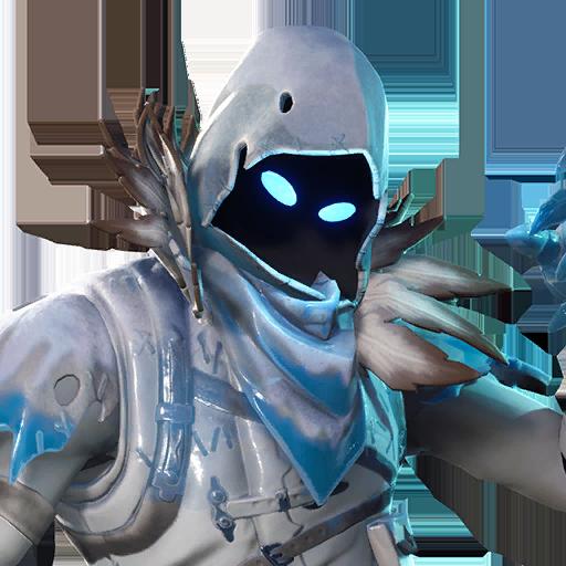 Fortnite Frozen Raven outfit