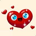 Fortnite In Love emoji