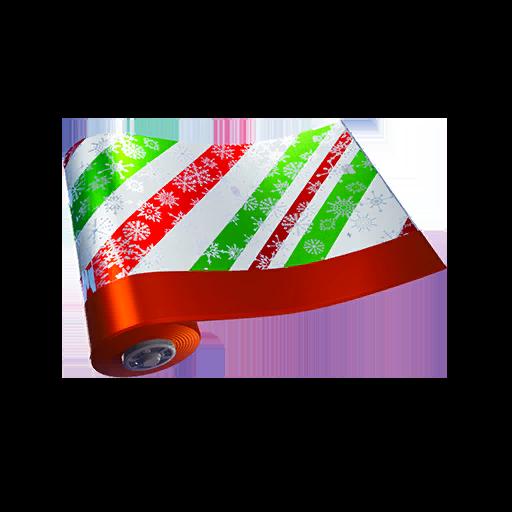 Fortnite Merry Stripe wrap