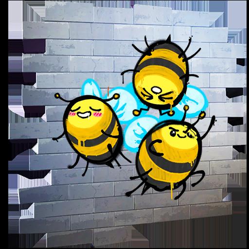 Fortnite Bees! spray