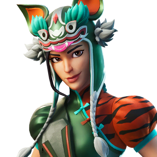 Fortnite Tigeress outfit