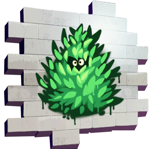 Fortnite Bush Peek spray