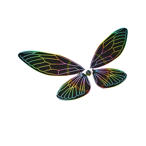 Fortnite Glow Wings glider