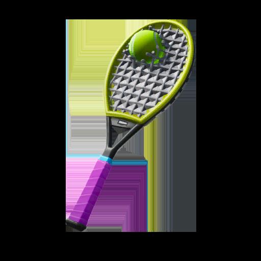 Raqueta usada