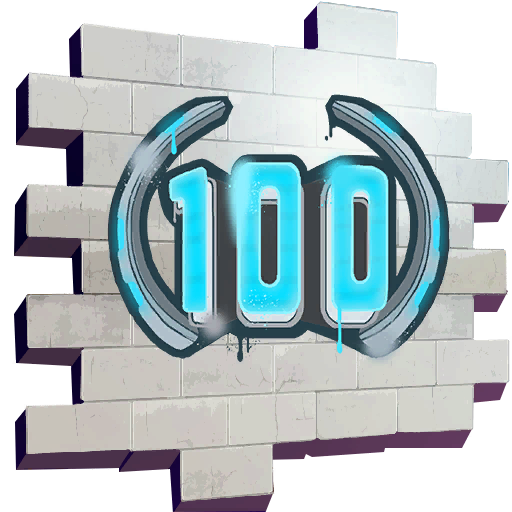 Fortnite Season Level 100 spray