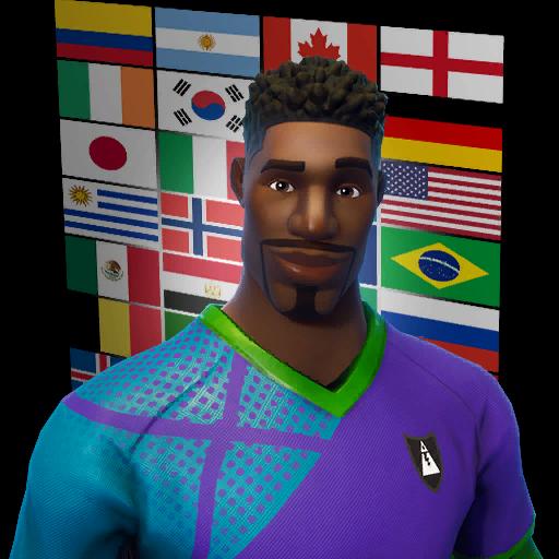 Fortnite Super Striker outfit