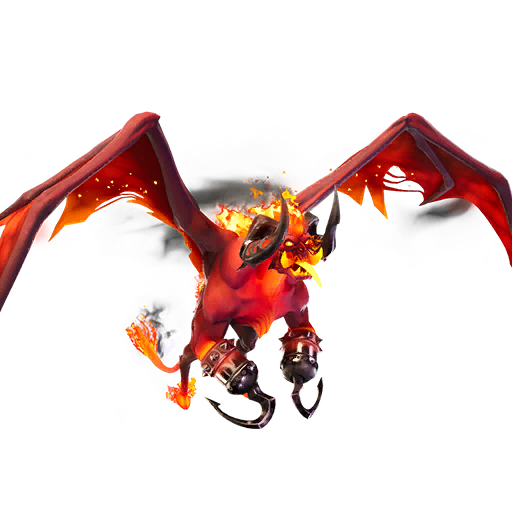 Fortnite Burning Beast glider