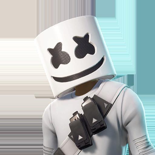 Fortnite Marshmello outfit