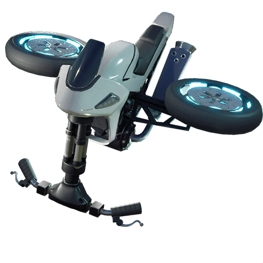 Fortnite White Squall glider