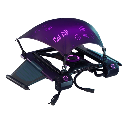 Fortnite Dark Glyph glider