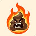 Fortnite Flaming Rage emoji