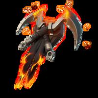 Flaming Dual Kama