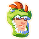 Fortnite Rex Roar emoji