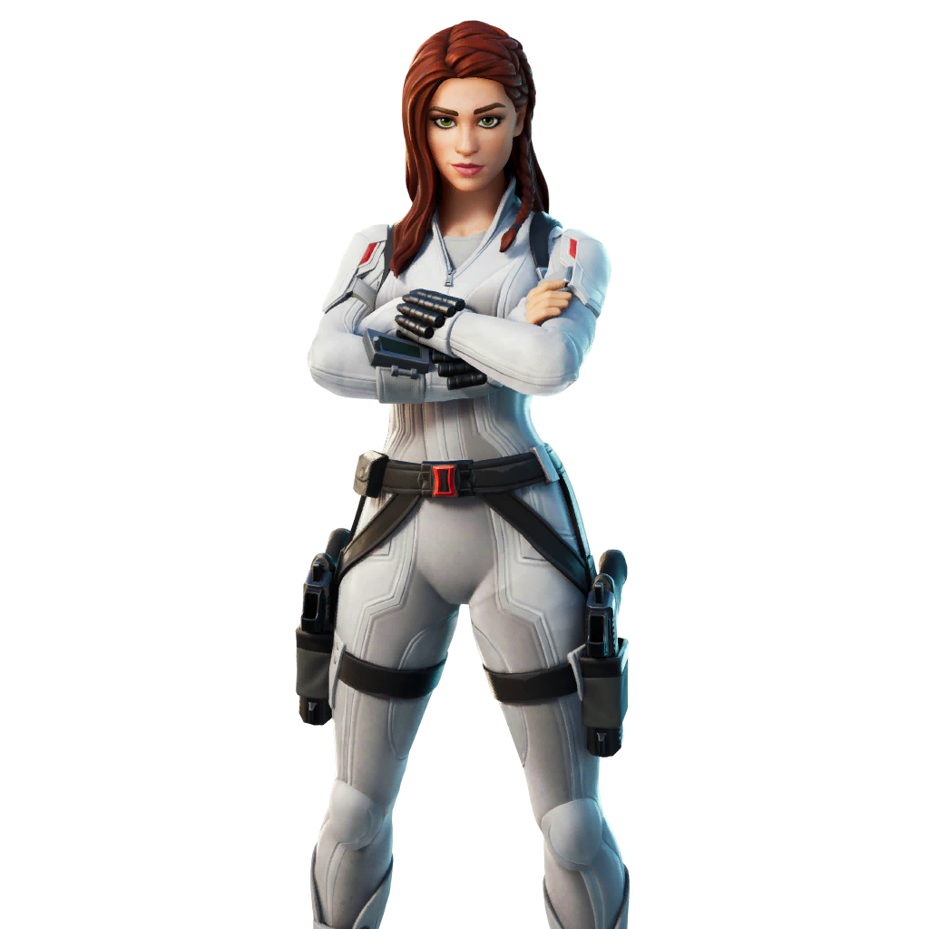 Fortnite Black Widow (Snow Suit) Outfit Skin