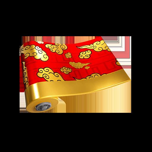 Fortnite Golden Clouds wrap