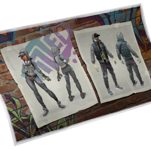 Fortnite Aerosol Assassins loadingscreen