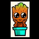 Fortnite Grootling emoji