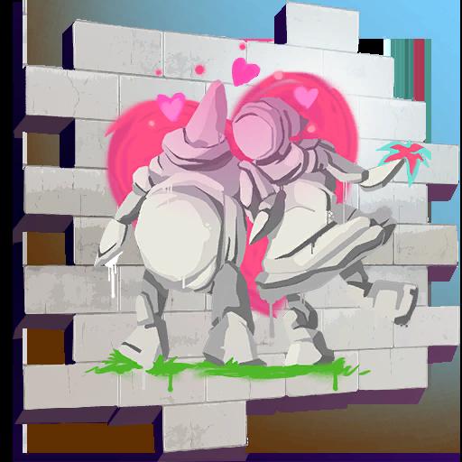 Fortnite Rock Love spray