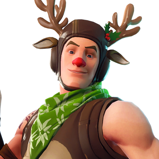 Fortnite Red-nosed Ranger outfit