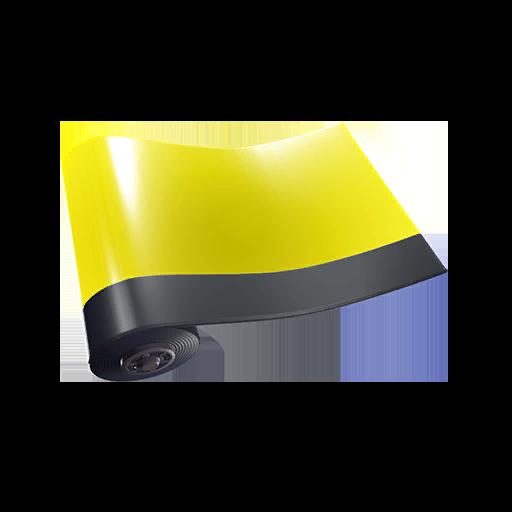 Fortnite Yellow Glow wrap