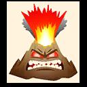 Fortnite Angry Volcano emoji