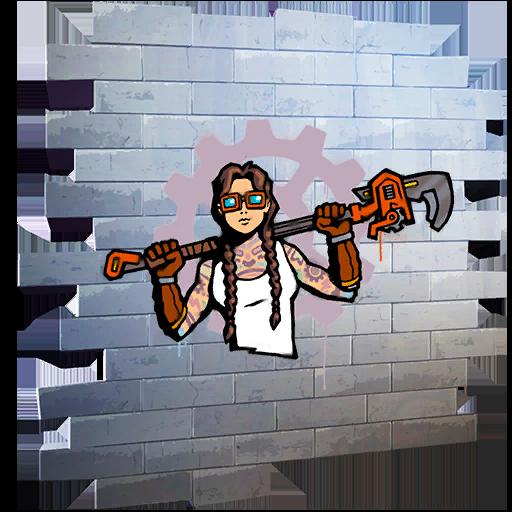 Fortnite Master Engineer spray