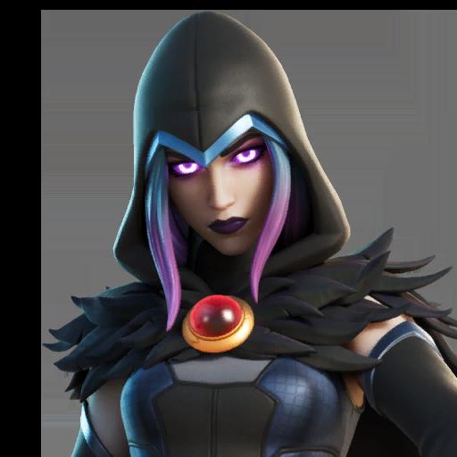 Fortnite Rebirth Raven Outfit Skin