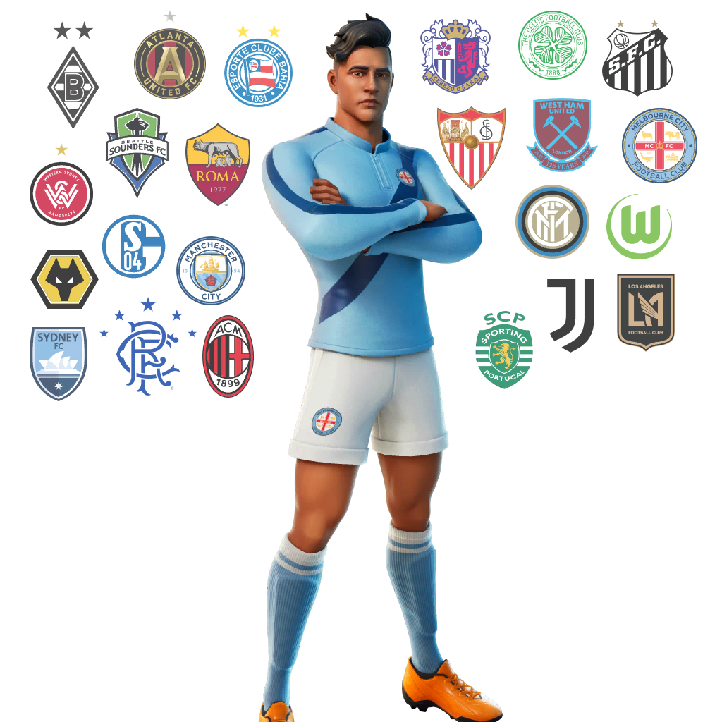 Fortnite Galactico Outfit Skin