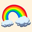 Fortnite Rainbow emoji