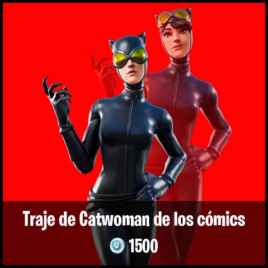 Traje de Catwoman de los cómics