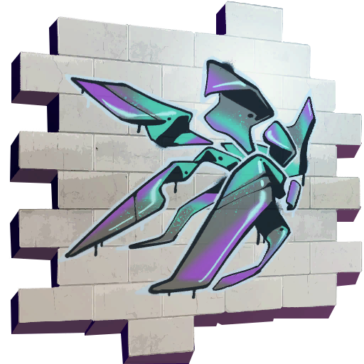 Fortnite Abstract spray