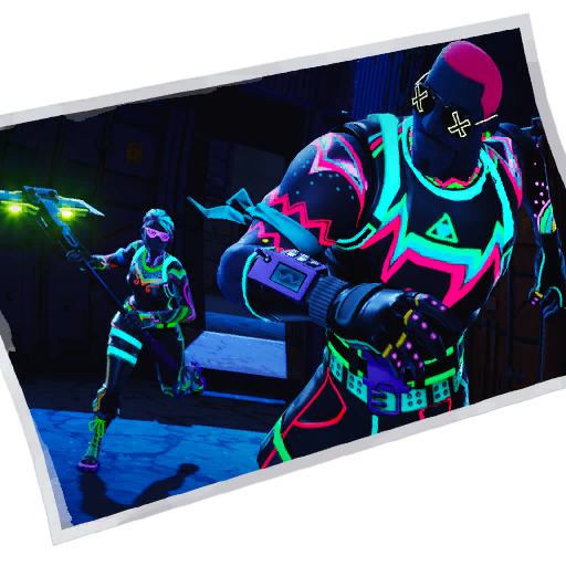 Fortnite Neon Glow loadingscreen