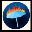 Fortnite 'Brella Fire emoji