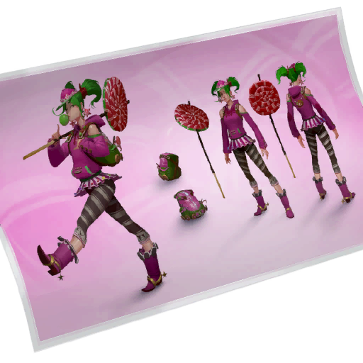 Fortnite Zoey loadingscreen