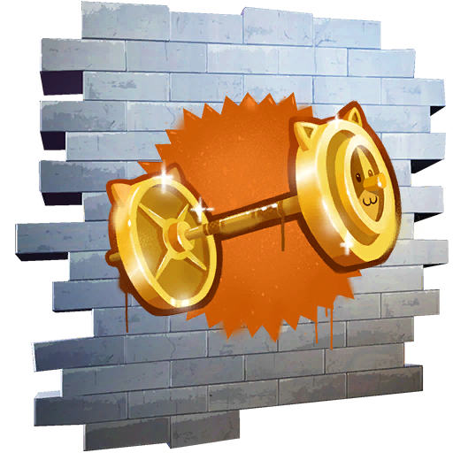Fortnite Pumping Gold spray