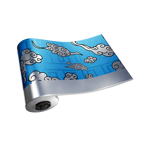 Fortnite Silver Cloud Wrap Skin