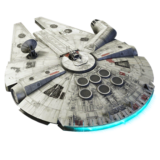 Fortnite Millennium Falcon glider