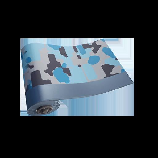 Fortnite Arctic Camo wrap
