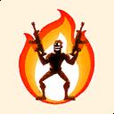 Fortnite On Fire emoji