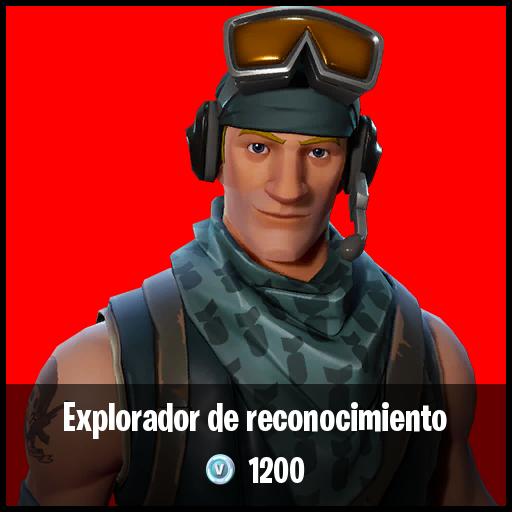 Exploradora de reconocimiento