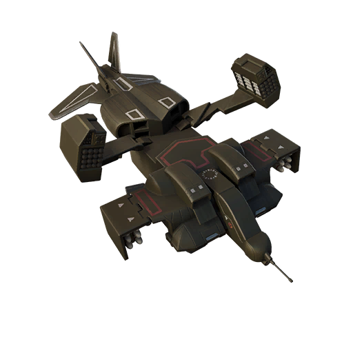 Fortnite Cheyenne Dropship glider