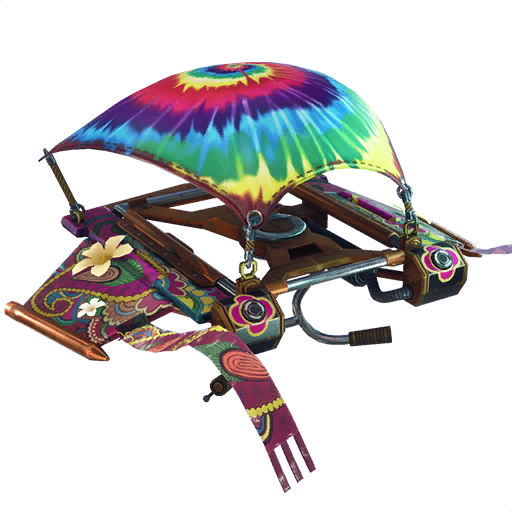 Fortnite Tie-dye Flyer glider