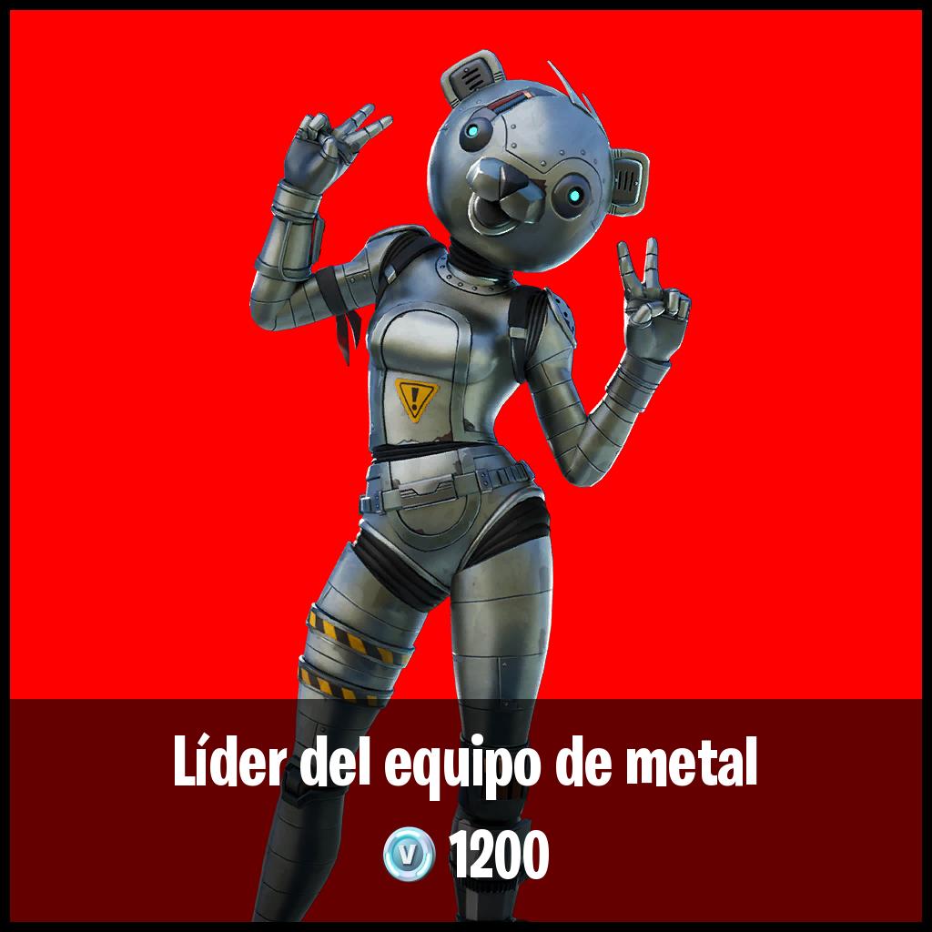 Líder del equipo de metal