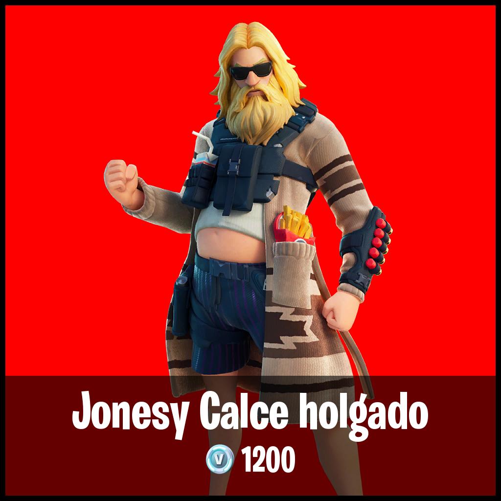 Jonesy Calce holgado