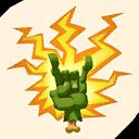 Fortnite Let's Rock emoji